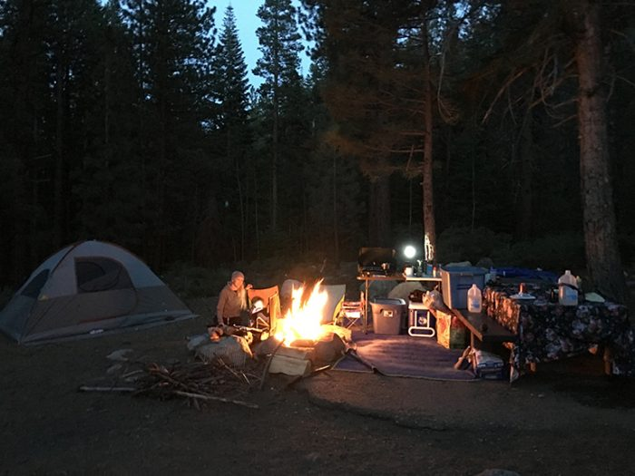 Buckeye Creek Campground And Hot Springs