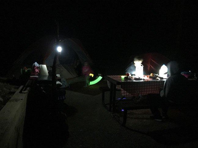 Camp Lighting