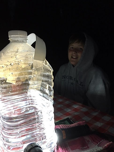 Headlamp Water Jug