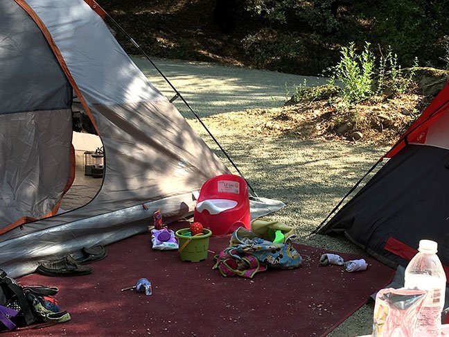 Kid Camping Toilet