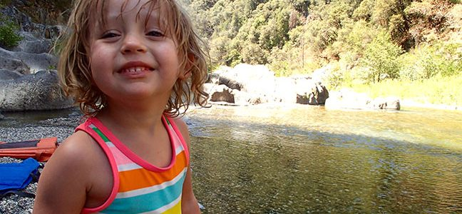 Top Five Things To Bring Camping With Kids