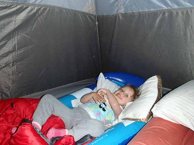 Happy Toddler Camping Bed