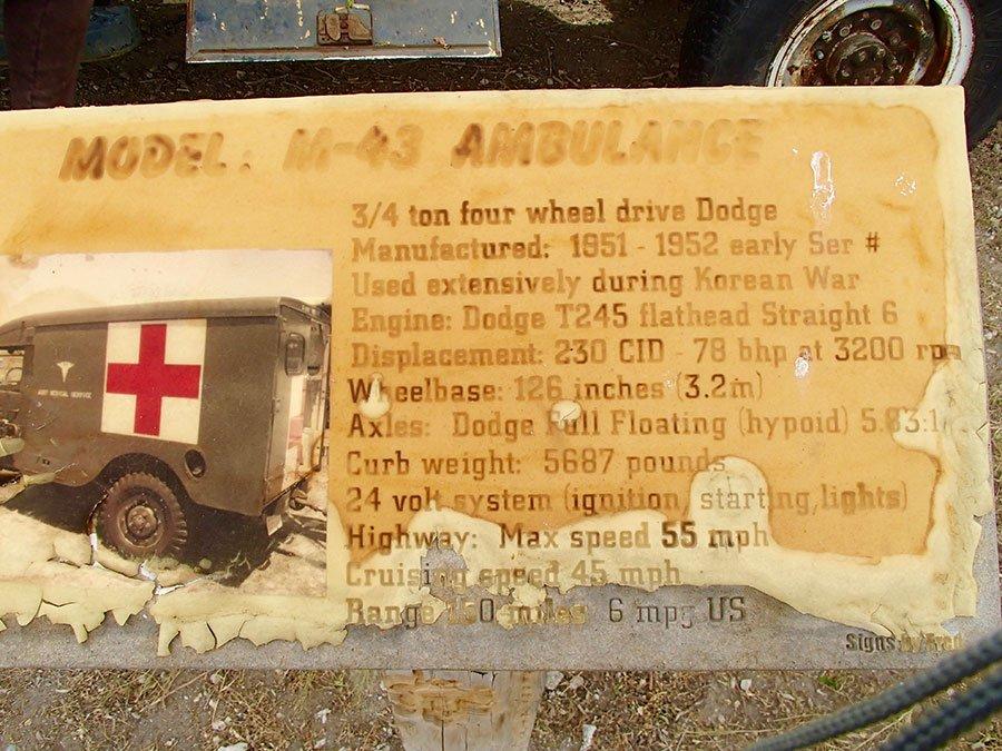 1951-1952 M43 Ambulance