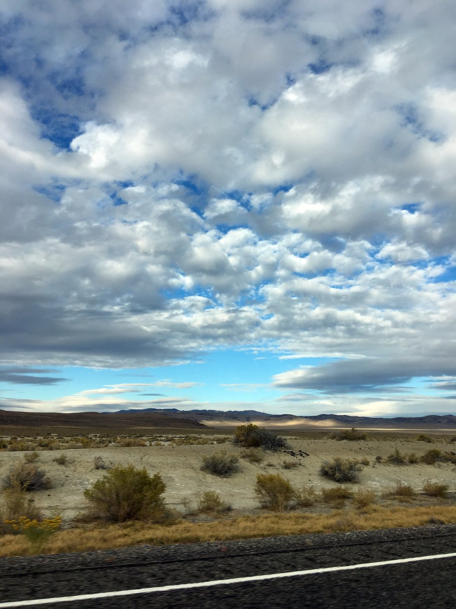 Cloudy Nevada