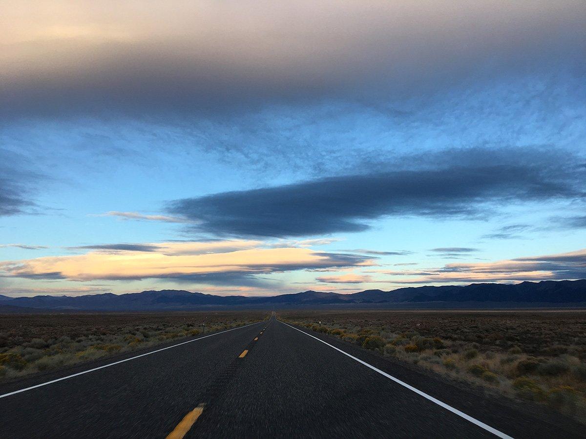 Hwy 50 Loneliest Highway