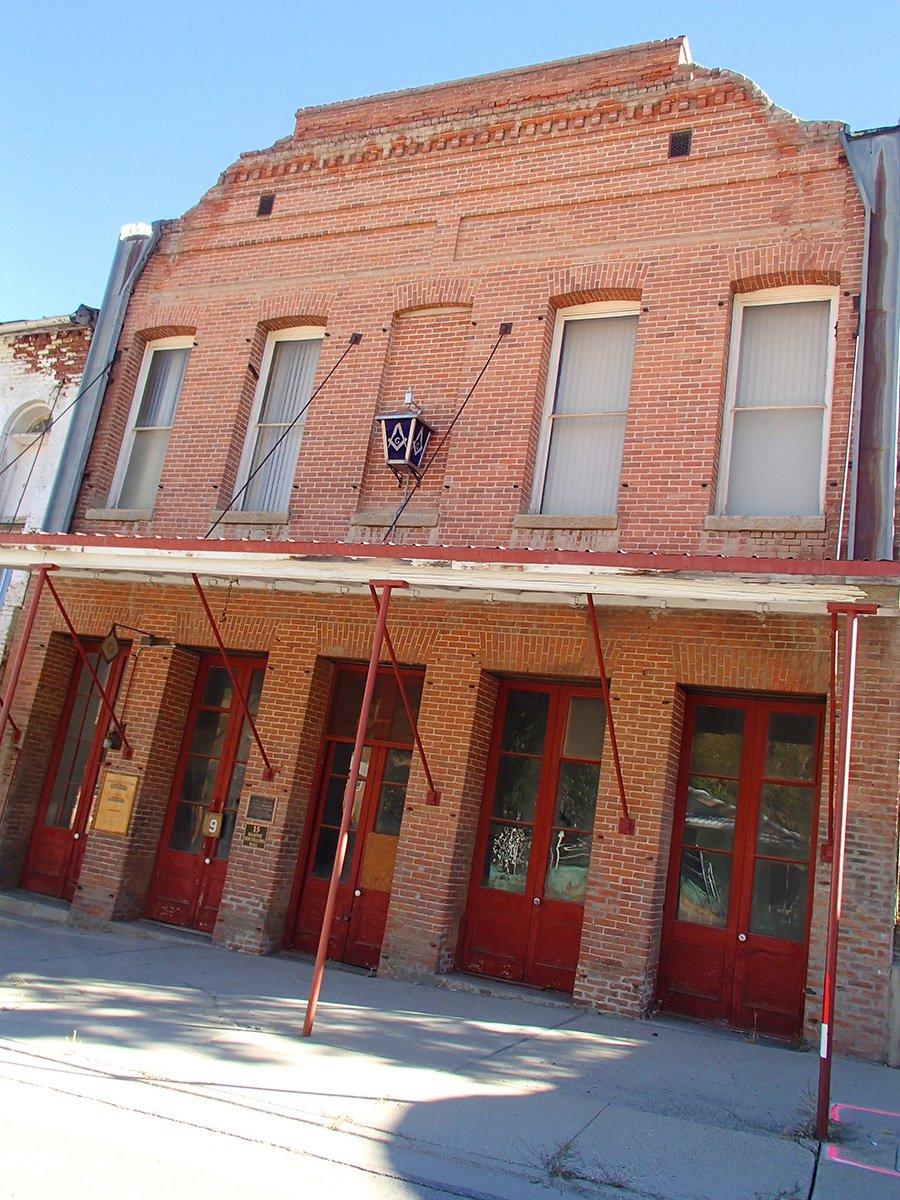 Masonic Building in Austin Nevada